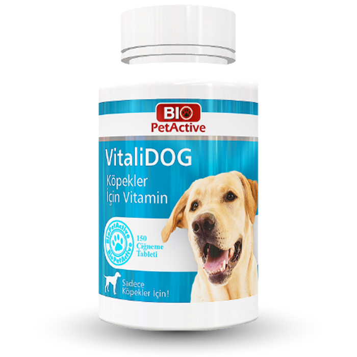 Bio Pet Vitalidog Köpek Vitamini (150 Tablet)
