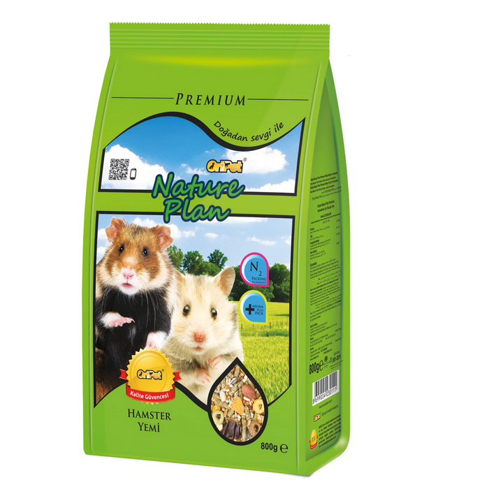 Nature Plan Hamster Yemi 800 g